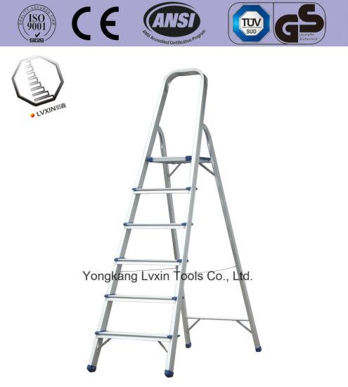 Aluminium Ladder Factory 6steps for Sale