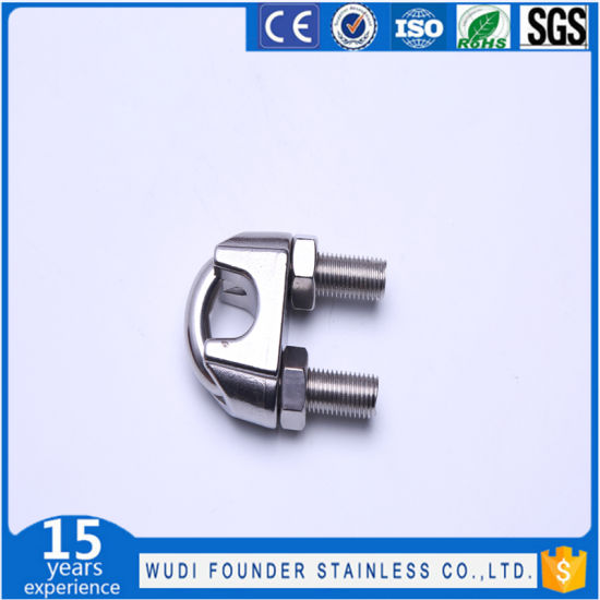 China Stainless Steel Wire Rope Cable Clamp - China Wire Rope Cable ...