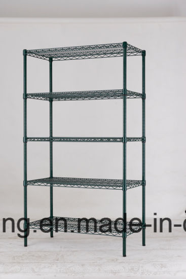 China 5 Tier Epoxy Heavy Duty Wire Shelving for Cold Room Use ...