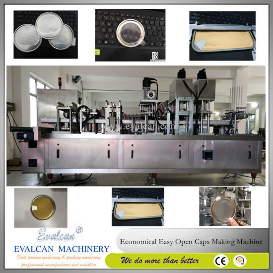Easy Open Plastic Peel off Lids Making Machine pictures & photos