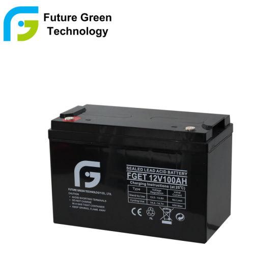 12V 100ah Deep Cycle Solar Energy Storage Gel Battery