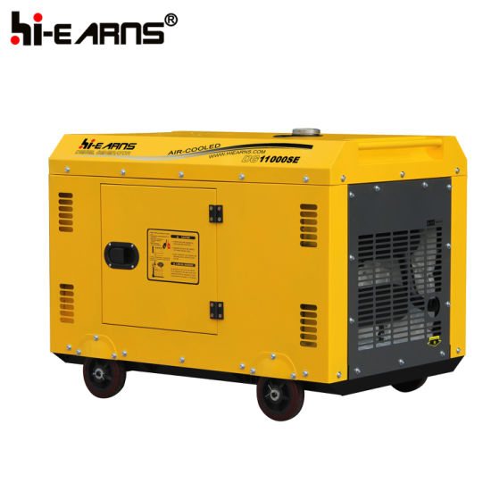 8.0 Kw Diesel Generator Set/ Portable Home Use Generator (DG11000SE) pictures & photos