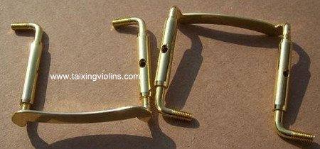 Solid Violin Parts & Accessories Gold Violin Chin Rest Screw pictures & photos