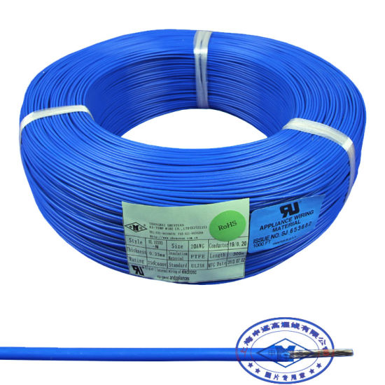 China UL10393 26 28 AWG PTFE Teflon Wire for Electric Components ...