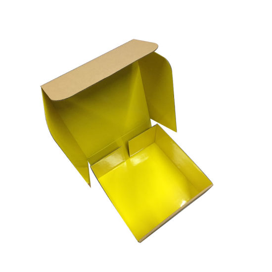 Any Color Available Corrugated Carton Cardboard Carton Box with Flip Lid pictures & photos
