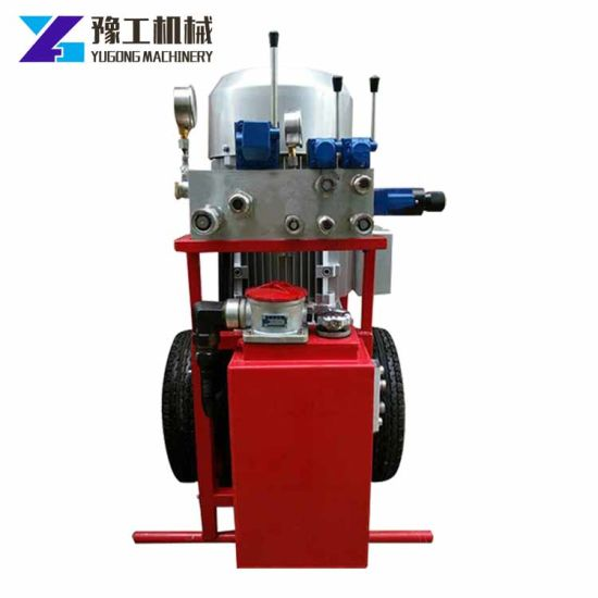China Stone Cement Cutting Machine Hydraulic Wire Saw - China ...