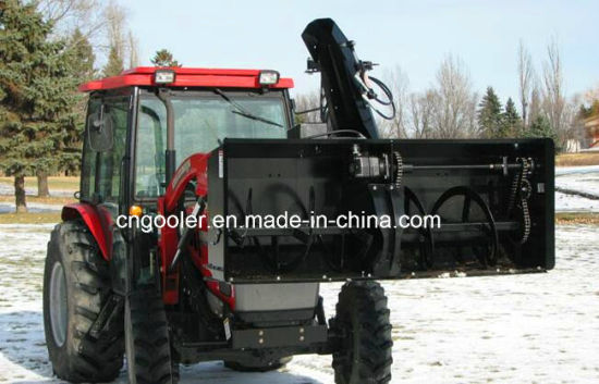 China Ce Approved Snow Blower For Tractor Mounted Front End Loader