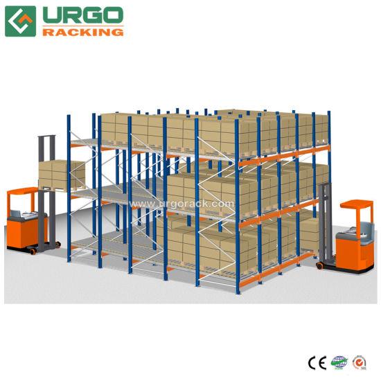 Heavy Duty Pallet Flow Rack for Gravity Goods