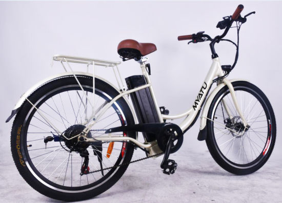 "26"" Alloy Electric City E Bike pictures & photos"