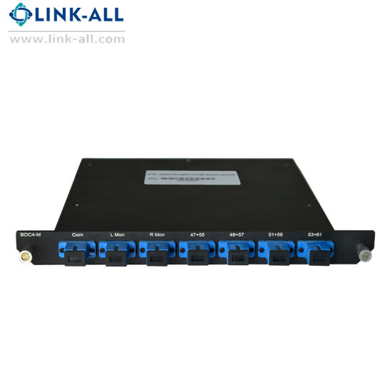 Passive 4 Channel Fiber Optical Mux&Demux CWDM pictures & photos