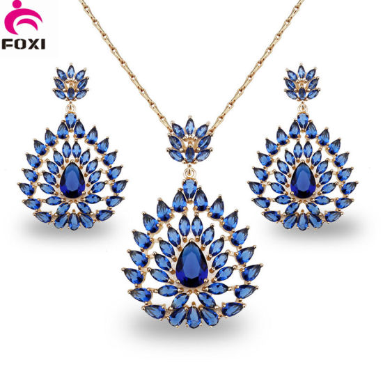China CZ Jewelry Manufacturer Wholesaler African Style Dubai Gold