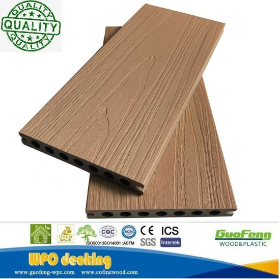 Charmant Outdoor Patio Decking Flooring Covering Plastic Wood WPC Deck Flooring  Black WPC Decking