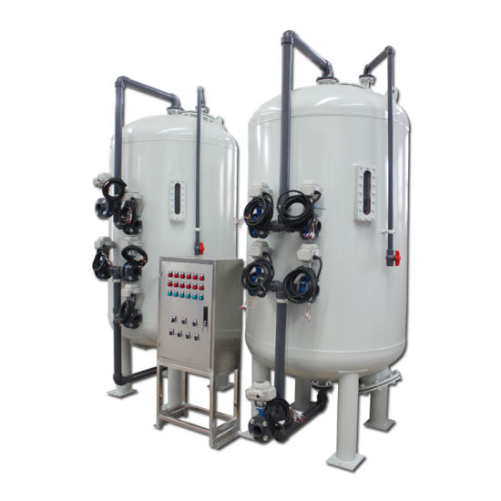 China Continuous Backwash Carbon Filter to Remove Chlorine