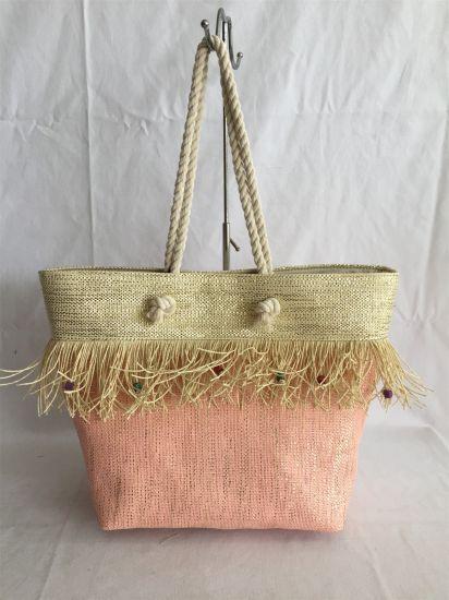 Paper Straw Fabric Beach Summer Bag Tote Bag