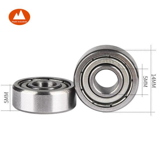 30 605ZZ 5x14x5 5mm//14mm//5mm 605Z Miniature Ball Shielded Radial Ball Bearings