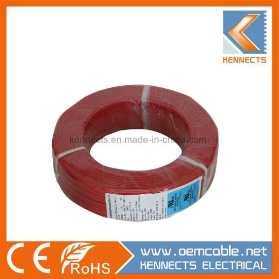 UL1007 16AWG Single/Stranded Copper Conductor PVC Electric Hook up Wire pictures & photos