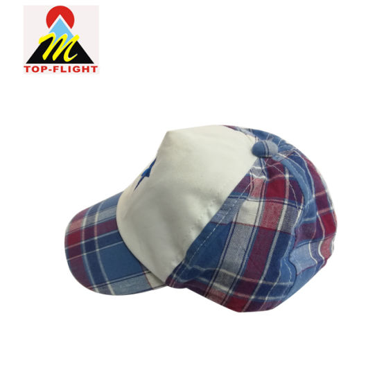 4d889a09cd4 Custom Embroidery Soft Cotton Baby 5 Panel Baseball Hat with Elastic Band