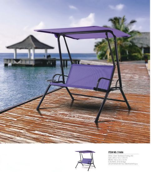 Outdoor Swing Patio Swing Chair Lovers′ Swing Patio Furniture pictures & photos