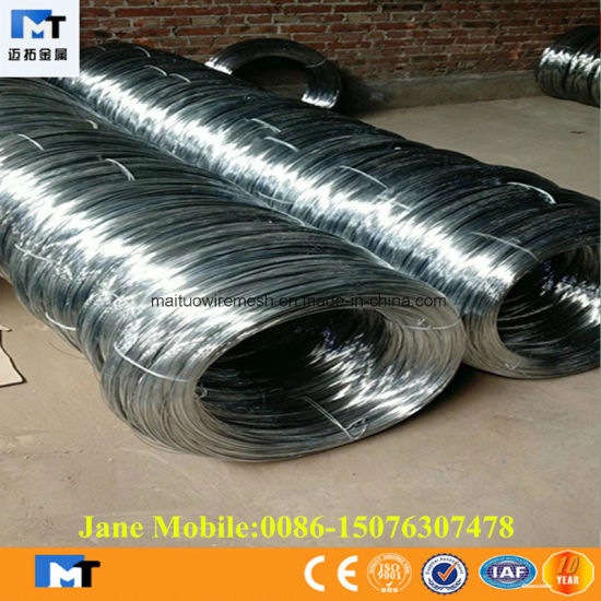 Lower Price and Higher Quality Electro Galvanized Wire (MT-GW005) pictures & photos