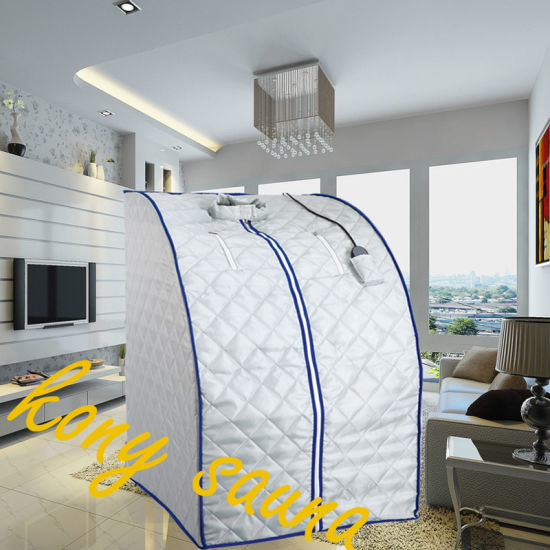 Far Infrared Sauna with Foldable Sauna Tent for Personal Use as Dry Bath Sauna Room