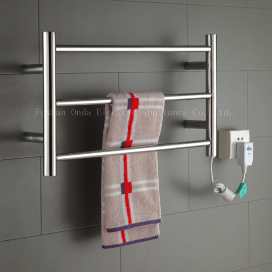 Good Quality Stainless Steel Electric Towel Radiator Bathroom Dryer