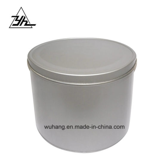 China Customized Metal Cans 25 to 1 Liter Round Tin Container