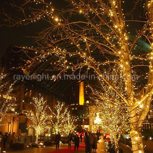 Hot Item Led Peach Christmas Tree Lights From Factory