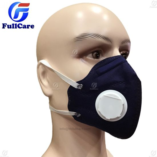 Ffp1 Protective Dust Ce Mask Ffp3 Valve Respirator Folded Ffp2 Exhalation
