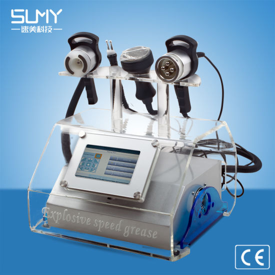 Portable Ultrasound Cavitation RF Fat Buring Cellutile Removal Beauty Equipment pictures & photos