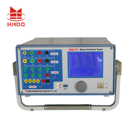 China Digital Electric Current Injection Protection Relay Test