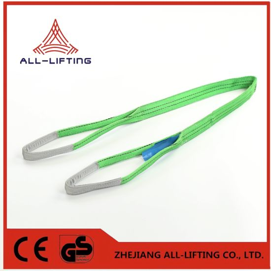 2t Double Flat Lifting Polyester Webbing Sling