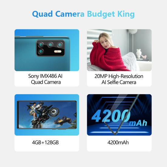 China Cubot P40 Rear Quad Camera 20mp Selfie Smartphone Nfc 4gb 128gb 6 2 Inch 4200mah Android 10 Dual Sim Card Mobile Phone 4g Lte China Smartphone And Mobile Phone Price
