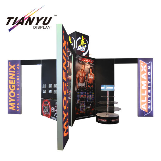 Portable Exhibition Games : China customized trade show display ft portable exhibition