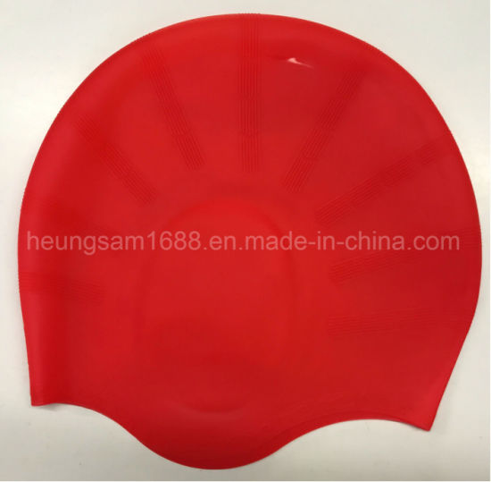 1PC Men Women children Boys Girls Silicone High Quality Swim Cap beanie hat