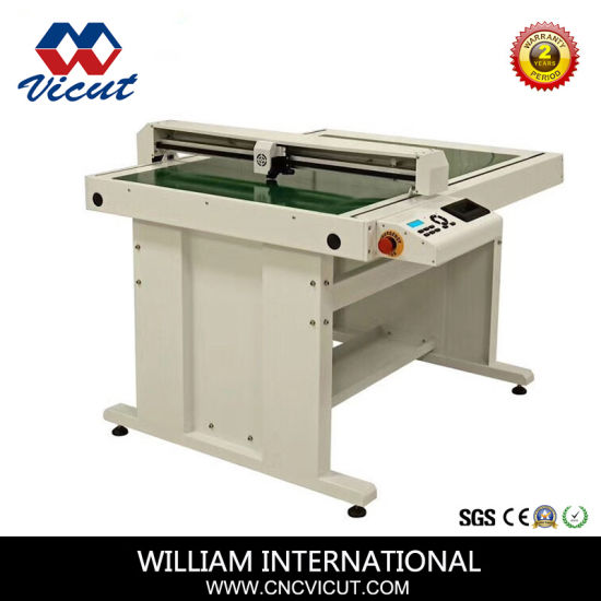 Pre-Printed Flatbed Digital Cutter  Label Die Cutting Machine with Creasing Function  pictures & photos