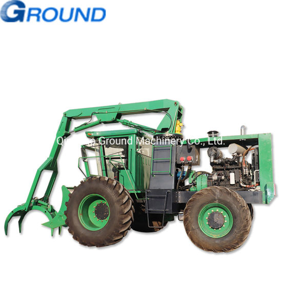 Agriculture used sugarcane grapple wheel loader excavator Grapple