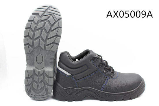 European Standard Cheap Styles Steel Toe-Cap Safety Shoes/Safety Footwear Ax05009
