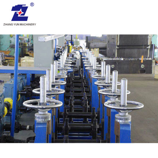 PLC Control High Efficiency Stainless Steel Pipe Production Line