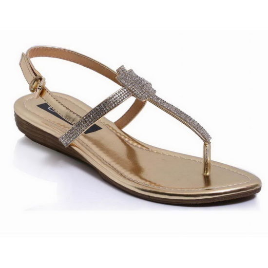4fdca4b54 China Hot Sale Summer Classic Ladies Sandals Wtih Stone - China Flat ...