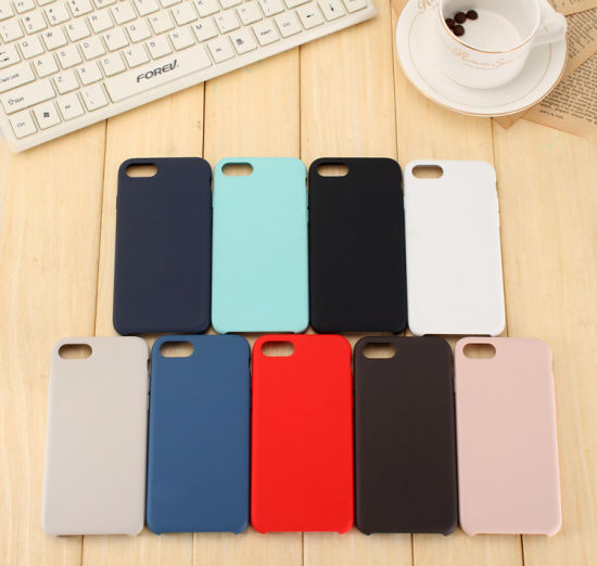 Cellphone Cases Wholesale Silicone Smart Mobile Phone Case for iPhone 7/8 Case Back Cover