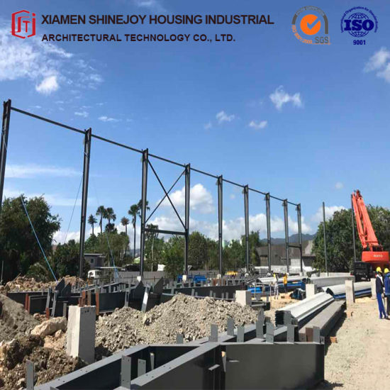 Customized Peb Bim Steel Structure Buildings for Warehouse, Cold Storage, Work Plants pictures & photos