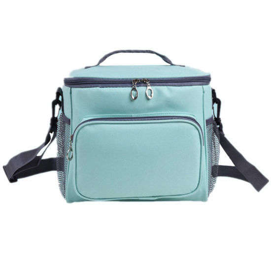 Polyester Material Insulated Cooler Bags Shoulder Lunch Bags
