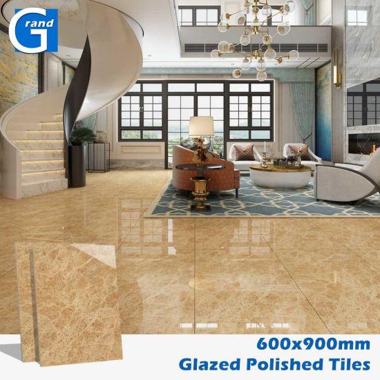 Polished Glazed Ceramic Floor