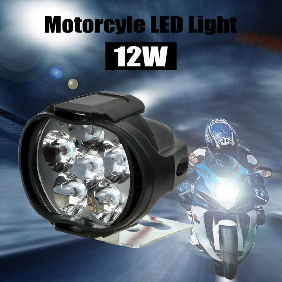 Motorcycle Headlight 60W 6500K LED Motorcycle Headlights Assembly Work Headlamp Kit for Motorcycle