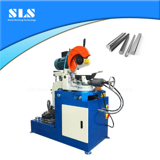 China Hot Selling Electric and Hydraulic Control Copper Aluminum Steel Pipe Cold Cutter Tube Circular Saw Cutting Machine