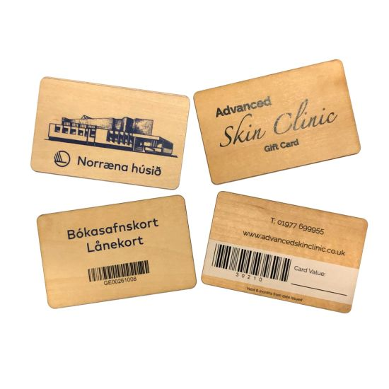 Natural Bamboo Business Card / Name Card/ Decorate The Card