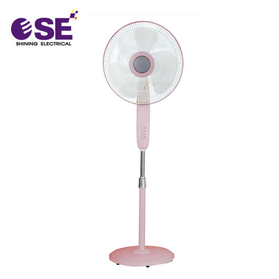 China White Electric Pedestal Air Circulation 16 Inch Stand Fan