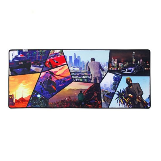 Soft Natural Rubber Mouse Mat for Wholesales with Keen Price