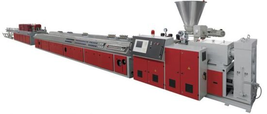 Automatic Plastic PVC/WPC Ceiling/Wall Panel /Window/Door Panel/Edge Banding/ Corner Bead/Decking/Roller Shutter/Cable Trunking Profile Making Machine