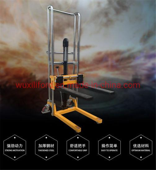 Pj4150 Manual Hydraulic Hand Pallet Lift Jack Oil Drum Stacker